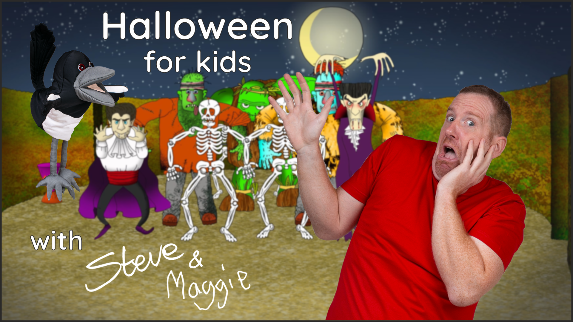 Halloween for Kids with Steve & Maggie