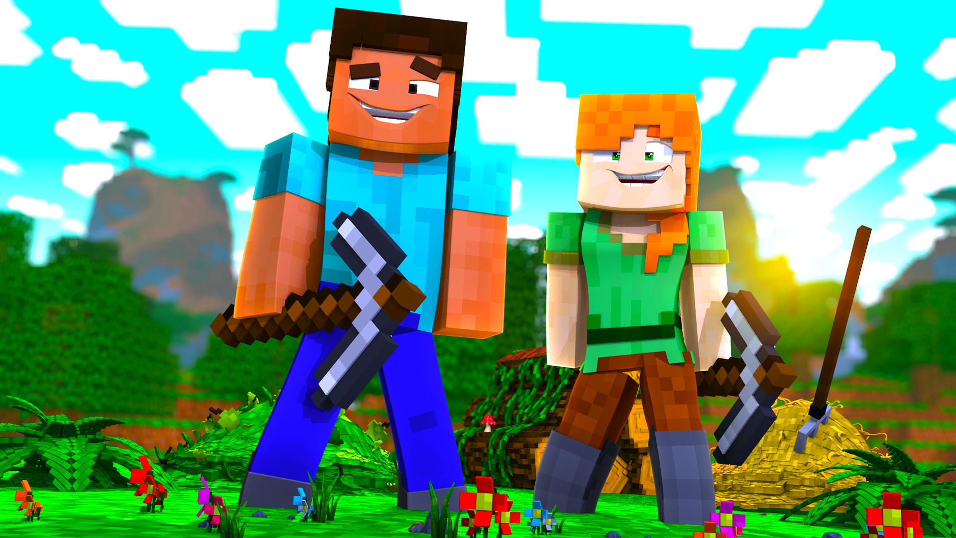 Amazon Com Watch Clip Steve Alex Minecraft Roleplay Prime