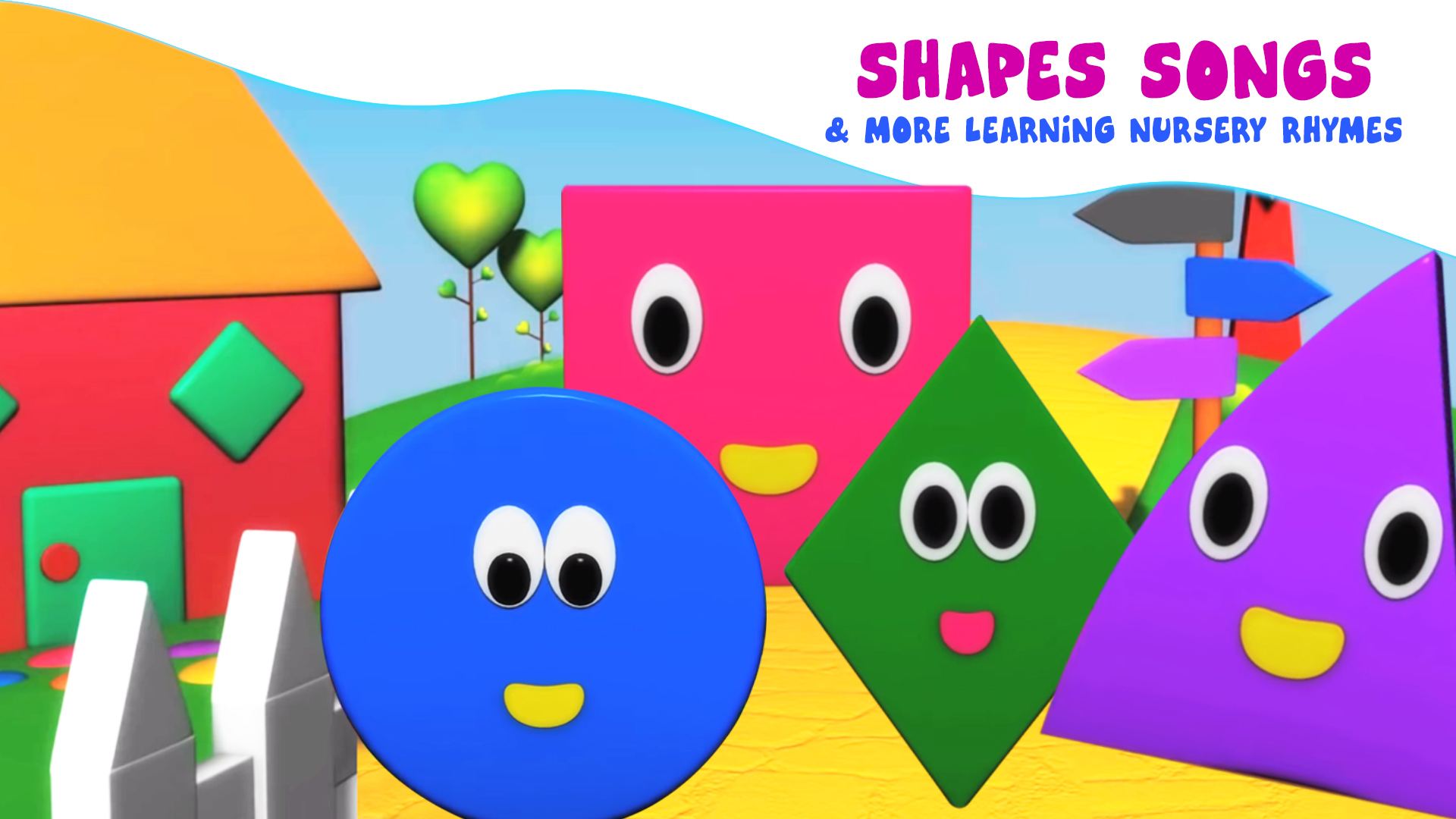 Shapes Songs and More Learning Nursery Rhymes