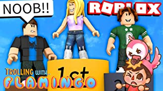 Amazon Com Watch Clip Roblox Funny Moments With Flamingo Prime