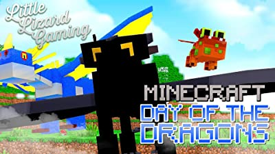 Clip: Little Lizard Gaming - Minecraft Day of the Dragons
