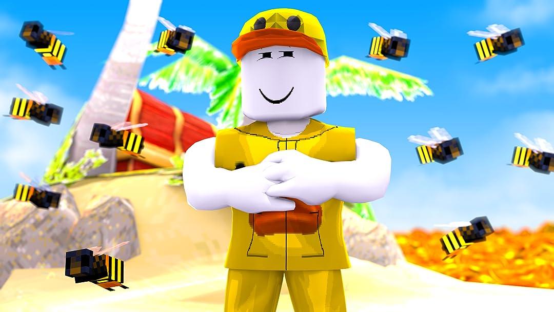 Amazon Com Watch Clip Roblox Bee Swarm Simulator Movie