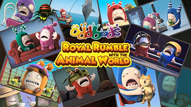 Oddbods - Royal Rumble With The Animal World