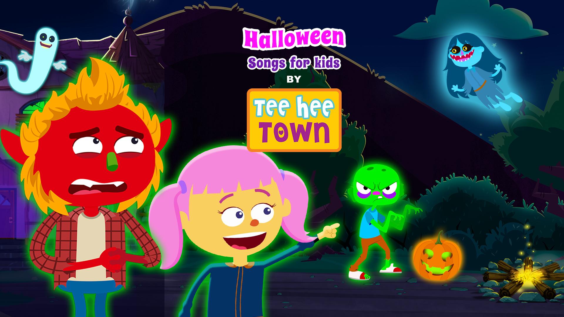 Halloween Songs for Kids by Teehee Town