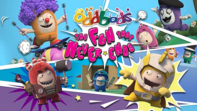 Oddbods - The Fun That Never Ends