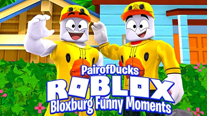 Amazon com: Watch Clip: Roblox Bloxburg Funny Moments