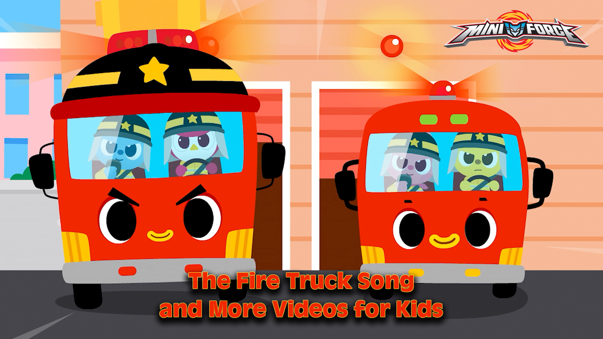 Miniforce - The Fire Truck Song and More Videos for Kids