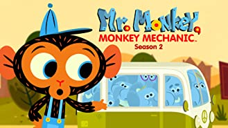 Mr. Monkey, Monkey Mechanic - Season 2