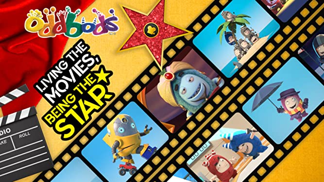 Oddbods - Living The Movies, Being The Star