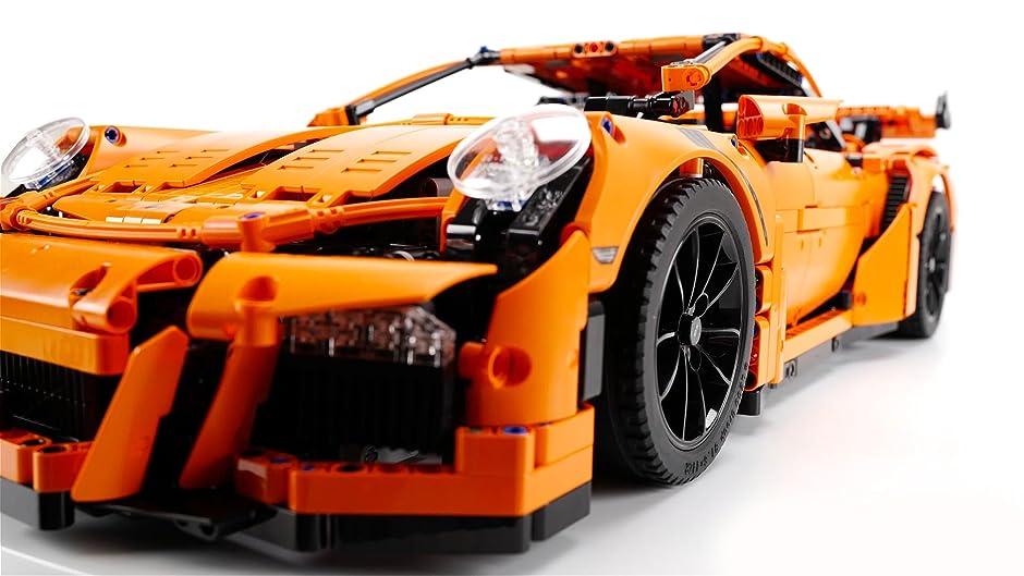 Amazon.com: Clip: Lego Technic Porsche 911 GT3 RS - Speed Build ...