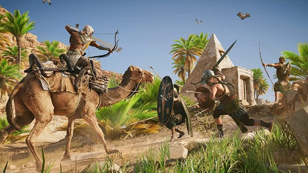 Amazon Com Watch Clip Assassin S Creed Origins Gameplay With