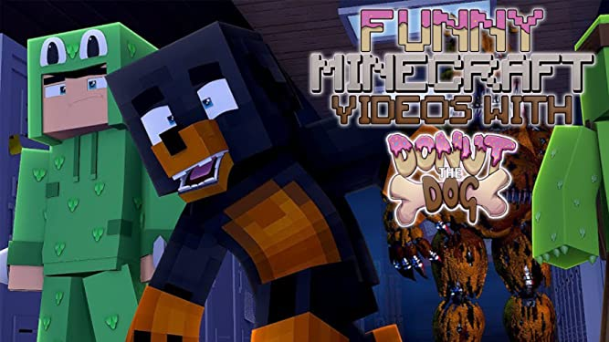 Amazon com: Watch Clip: Funny Minecraft Videos with Donut