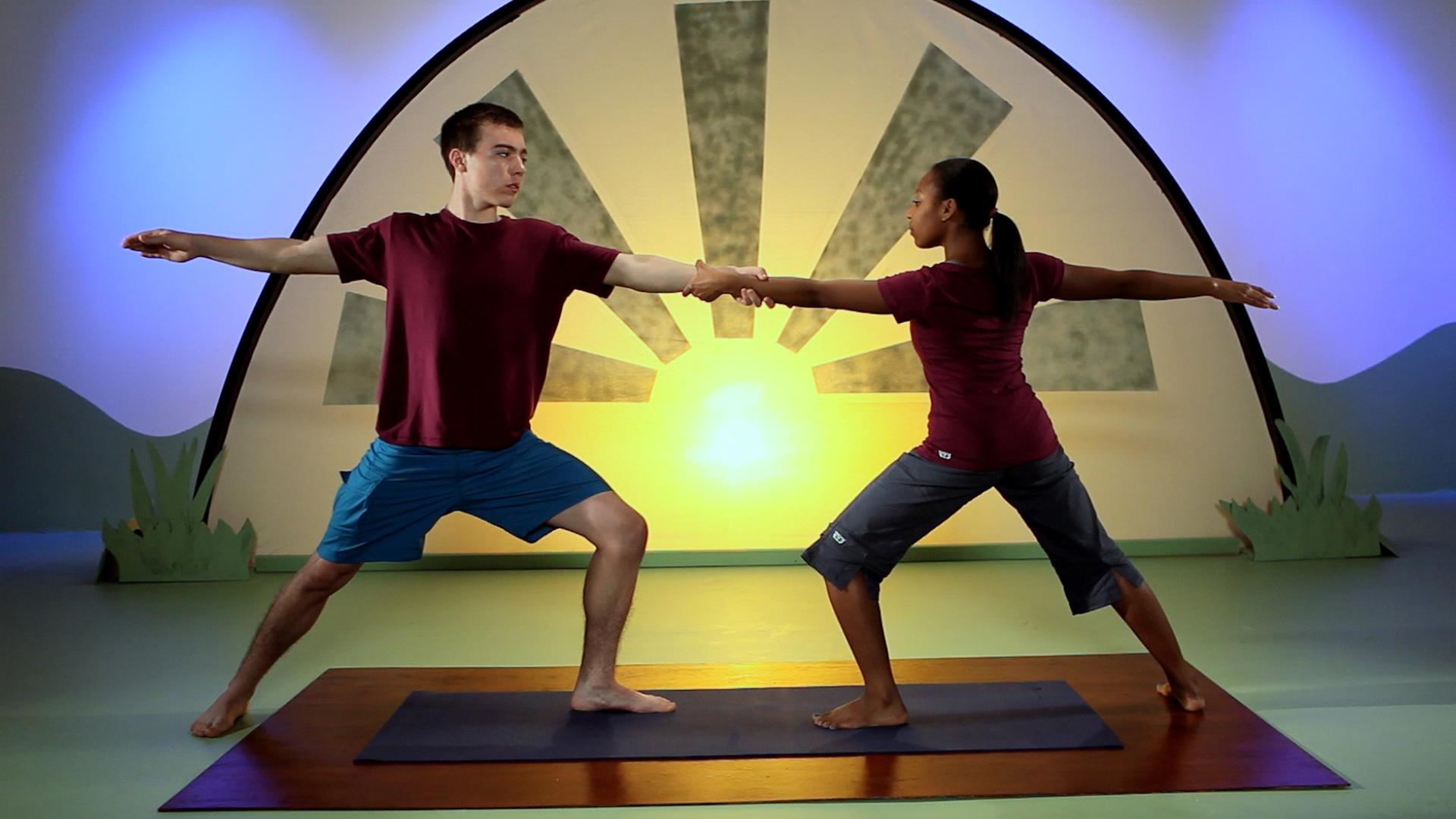 Watch Shanti Generation Partner Yoga For Teens Prime Video