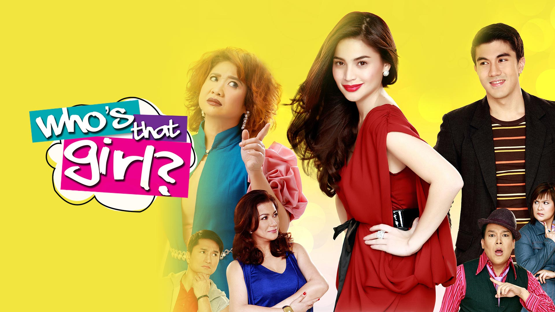 Who's That Girl (Tagalog Audio)