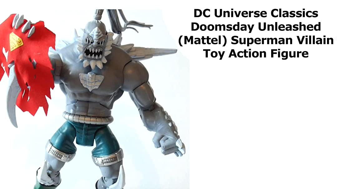 Amazon Com Watch Review Dc Universe Classics Doomsday Unleashed