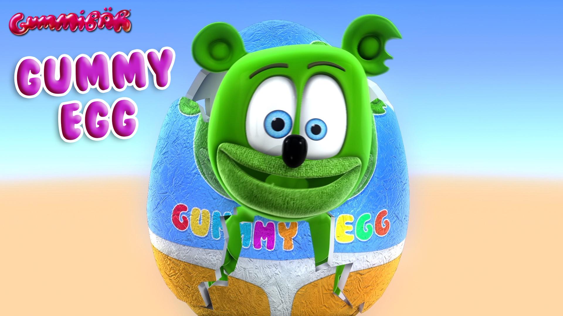 Gummy Bear - Gummy Egg
