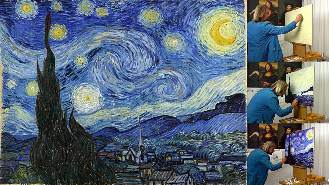 Watch Painting Vincent van Gogh Starry Night