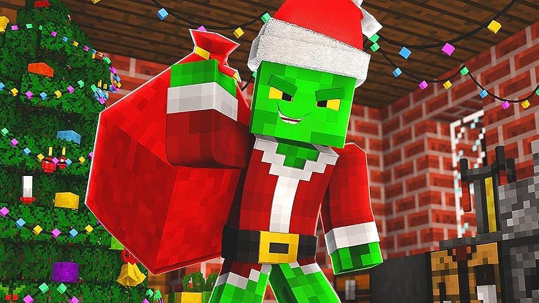 Minecraft Christmas.Amazon Com A Minecraft Christmas Movie Dad Plays Games