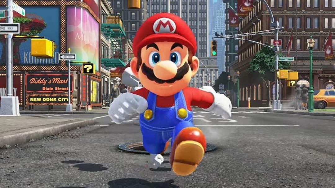 Amazon Com Watch Clip Super Mario Odyssey No Commentary