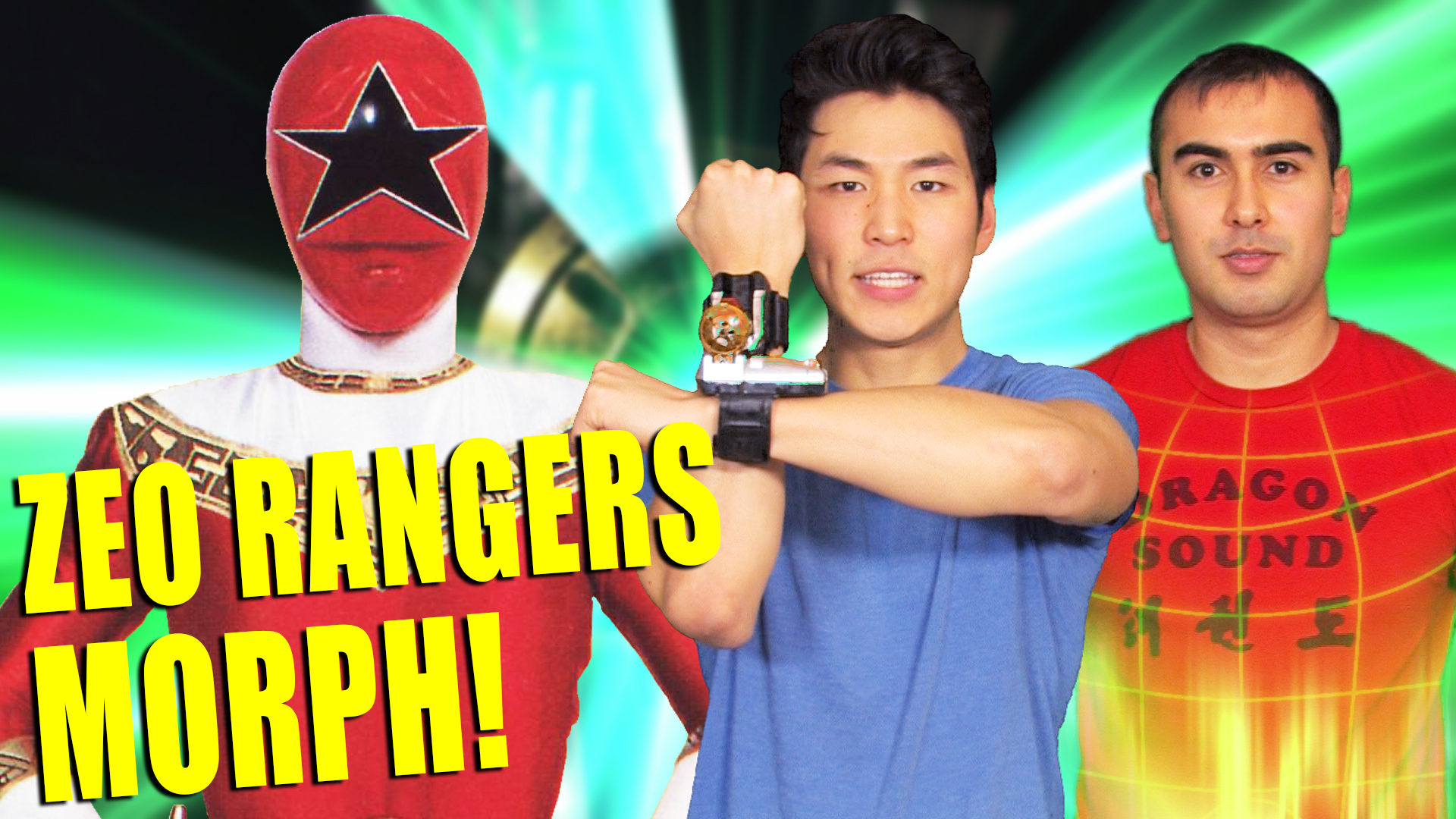Watch Clip: Super Mega Ninja Rangers   Prime Video