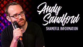 Andy Sandford: Shameful Information