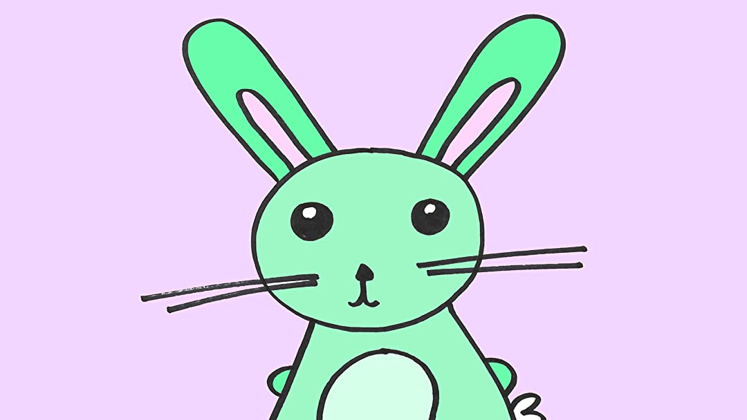Watch Learn How To Draw A Bunny Rabbit: Video Drawing Lesson For Children  Prime Video