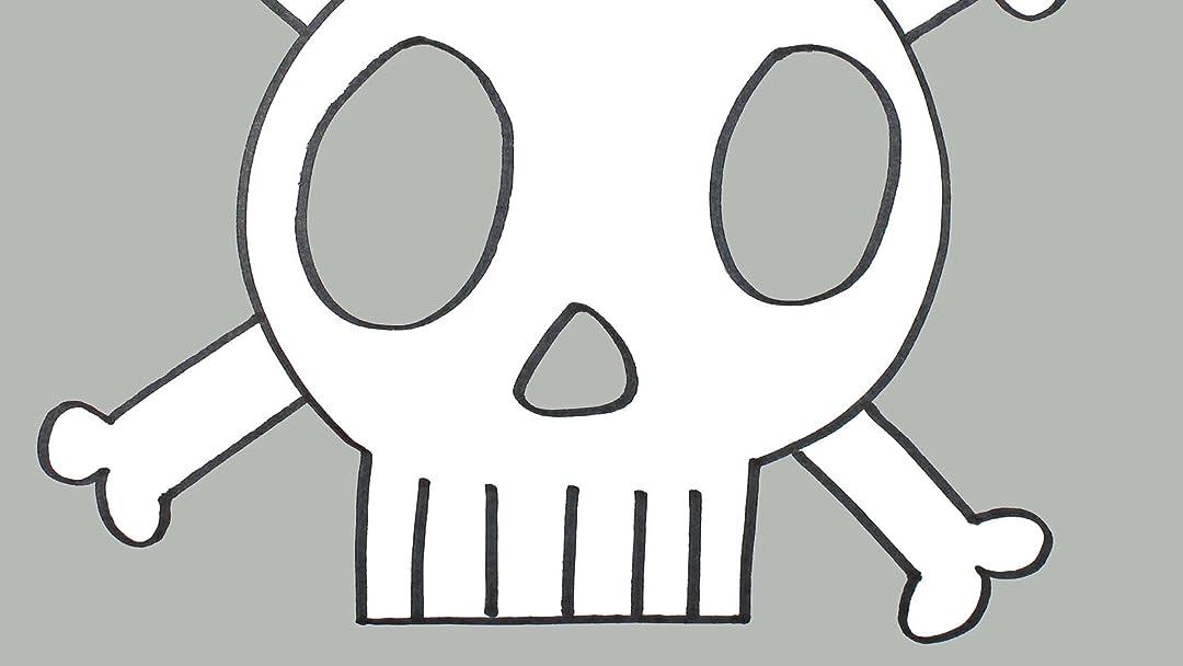 Amazon Com How To Draw A Skull And Crossbones Video Lesson Em Winn Em Winn