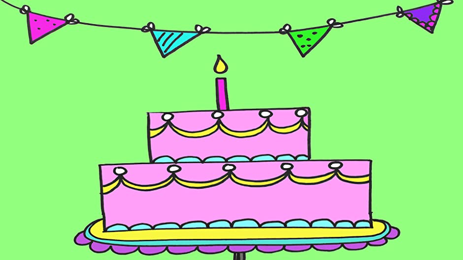 Amazon How To Draw A Birthday Cake For Beginners Em Winn