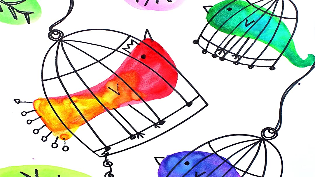 Watch Art For Kids Drawing And Watercolor Painting Birds In Birdcages Prime Video