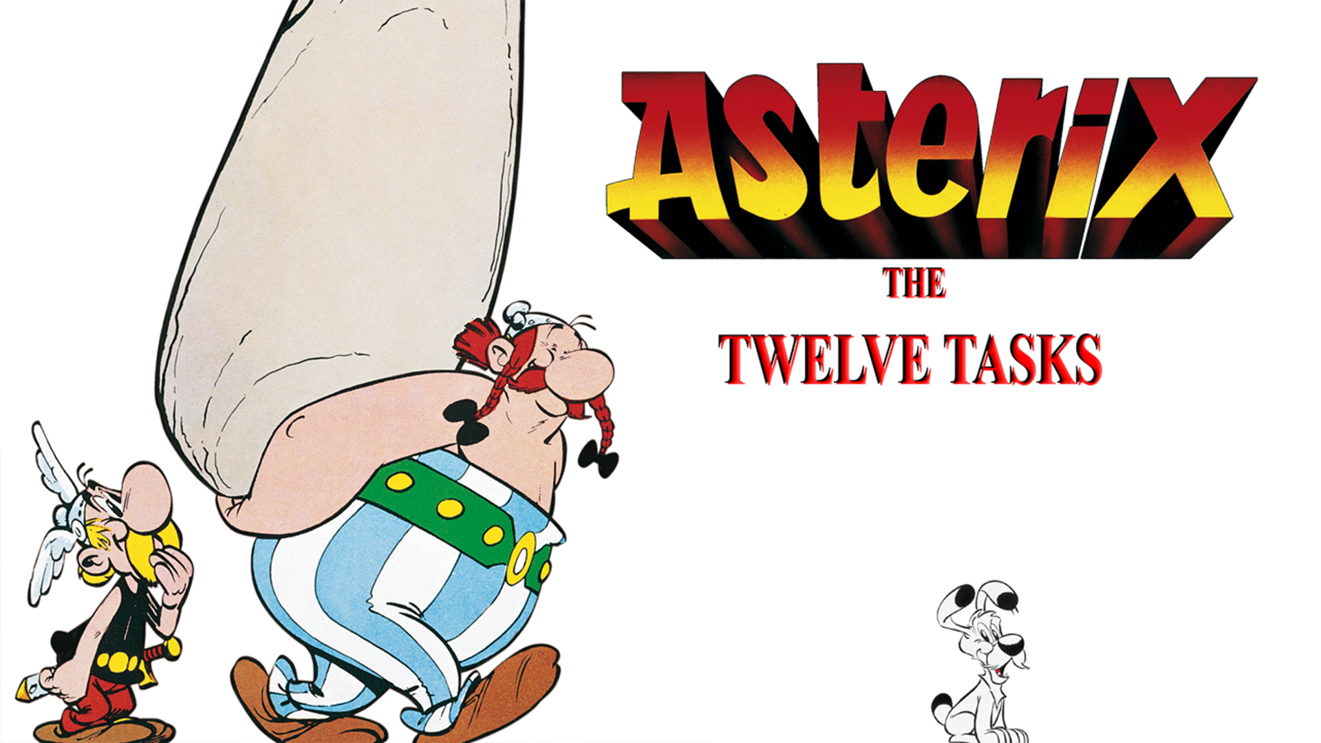 The 12 Tasks of Asterix
