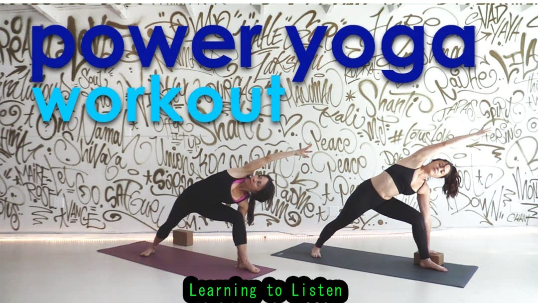 Watch Power Yoga Workout : Learning to Listen | Prime Video