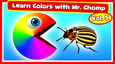 Learn Colors with Mr. Chomp Vol.5