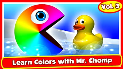 Learn Colors with Mr. Chomp Vol.3