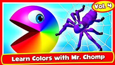 Learn Colors with Mr. Chomp Vol.4