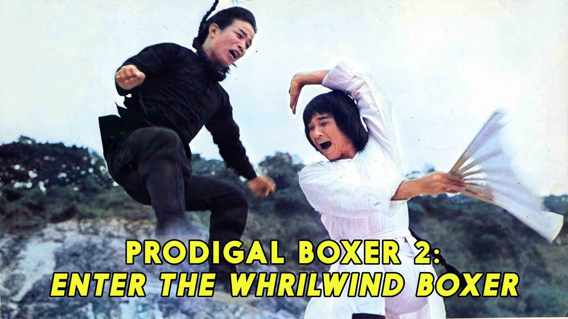 Prodigal Boxer 2: Enter The Whirlwind Boxer