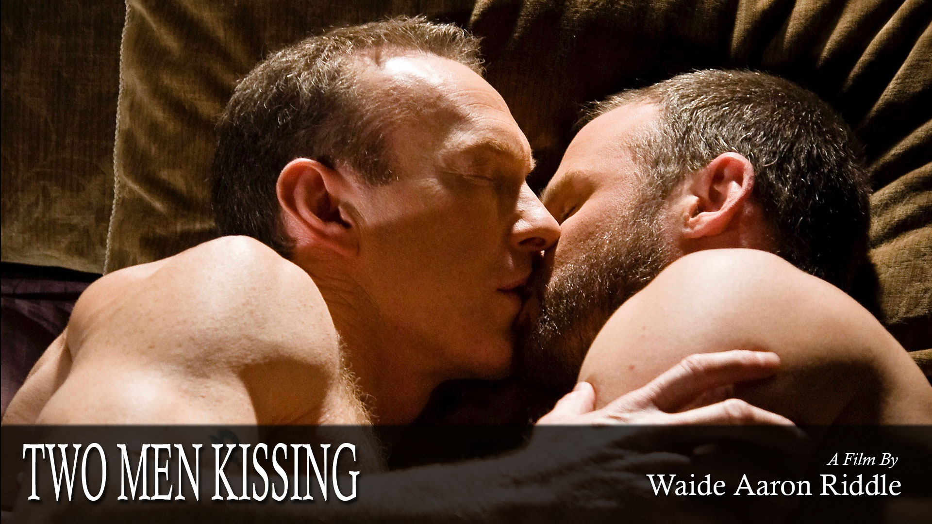 Amazon.com: Two Men Kissing : Waide Riddle, Waide Riddle
