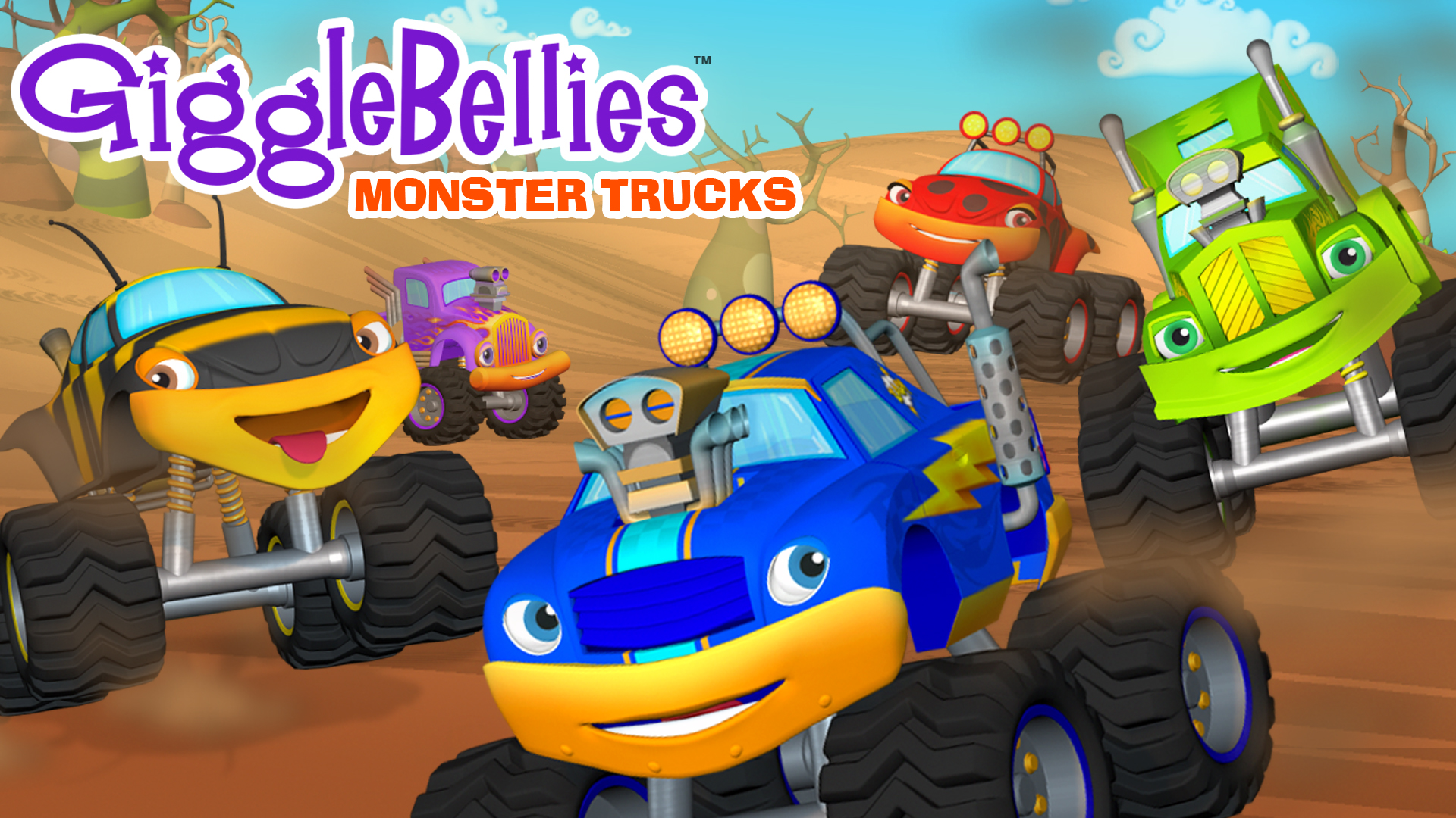 The GiggleBellies: Monster Truck Learning