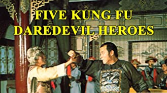 Five Kung Fu Daredevil Heroes