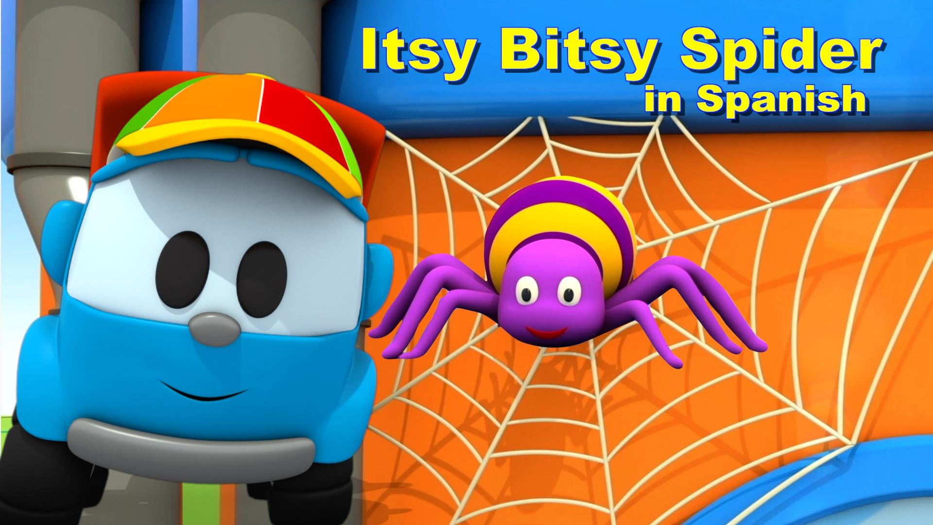 Itsy Bitsy Spider in Spanish