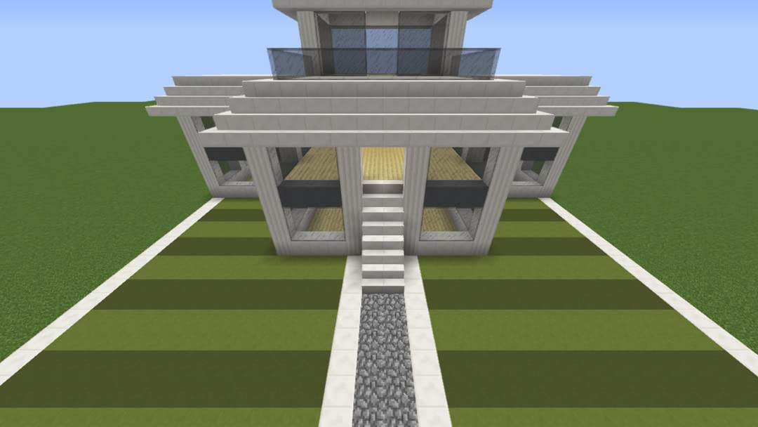 Watch Clip How To Build A Modern Villa Video Tutorial In Minecraft Prime Video