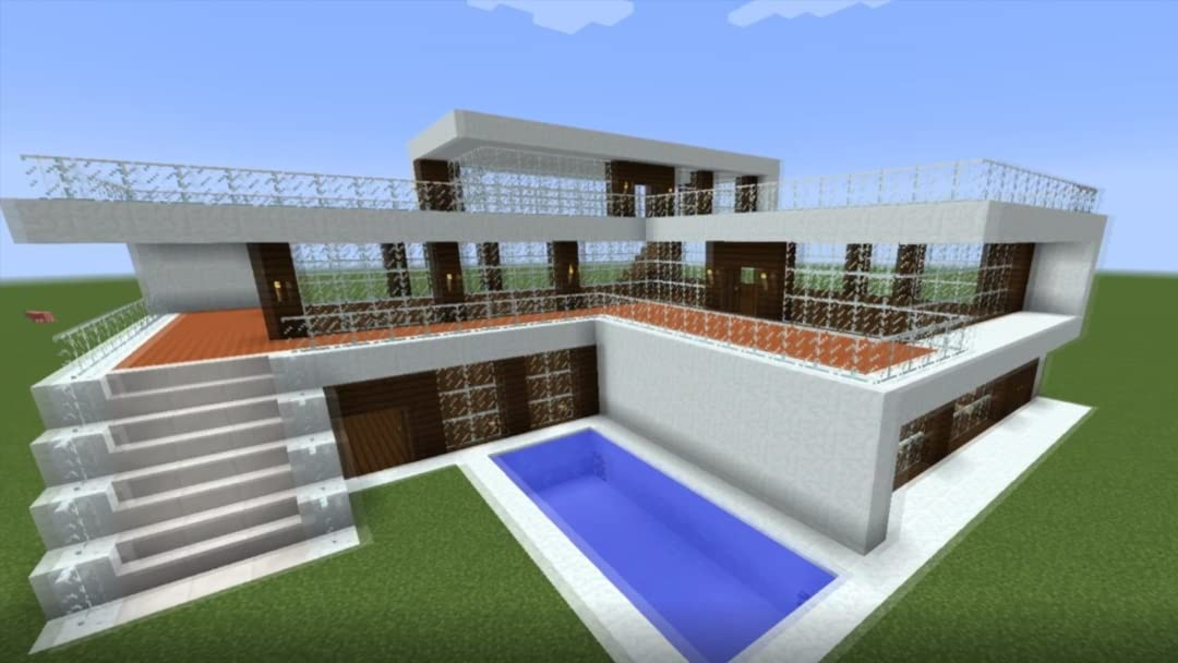Watch Clip: How to Build a Realistic Modern House in Minecraft