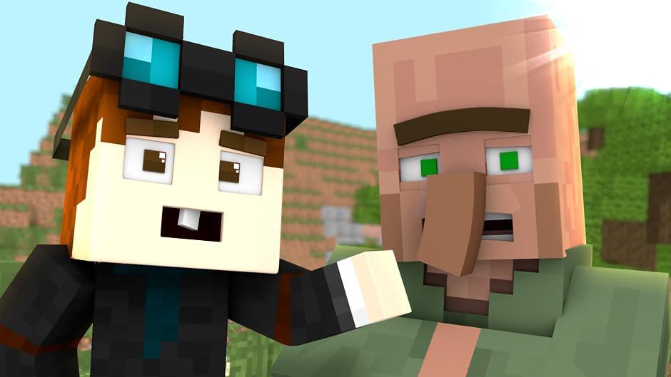 Amazon Com Villager Life Animation In Minecraft Pusic Entertainment