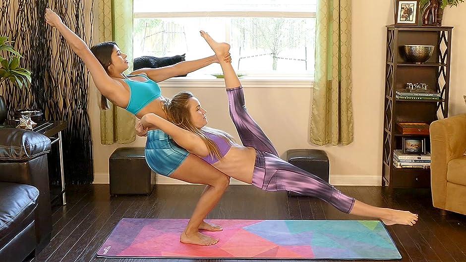 Amazon Acro Yoga How To Win These 6 Challenges Joy Scola Corrina Rachel