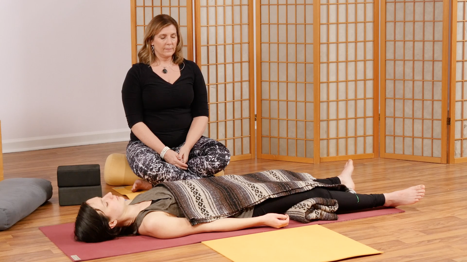 Watch 30-Minute Restorative Yoga for Calming the Mind ...