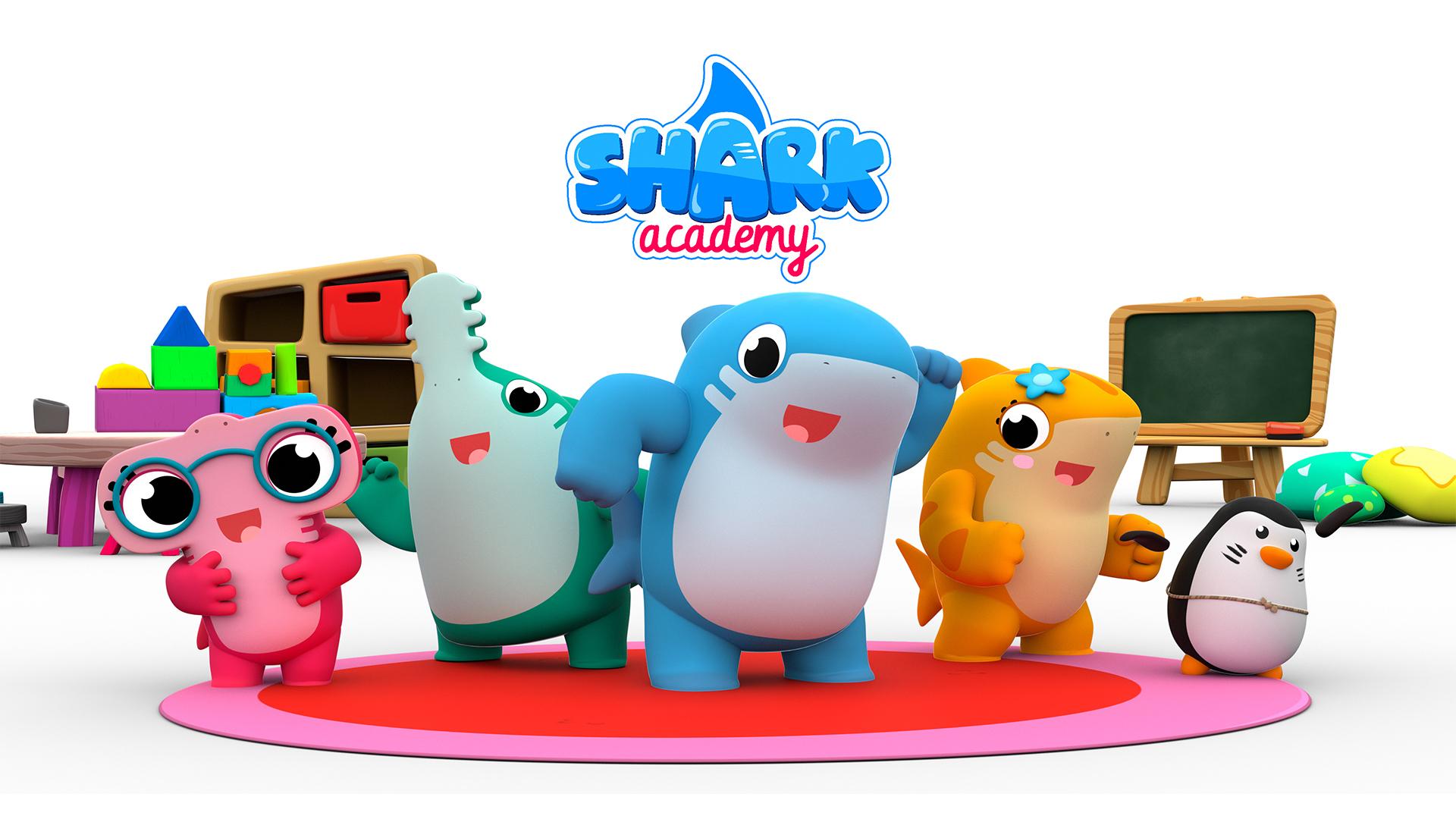 Shark Academy - Nursery Rhymes for Kids