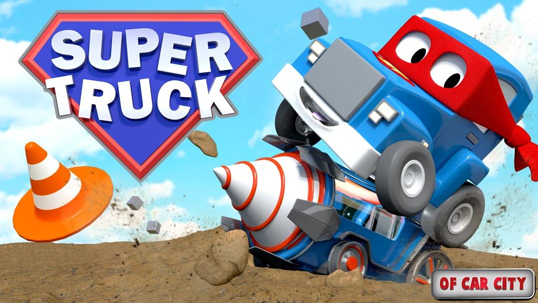 Amazon.com: Super Truck of Car City: Edouard Desmettre, Arthur Lener