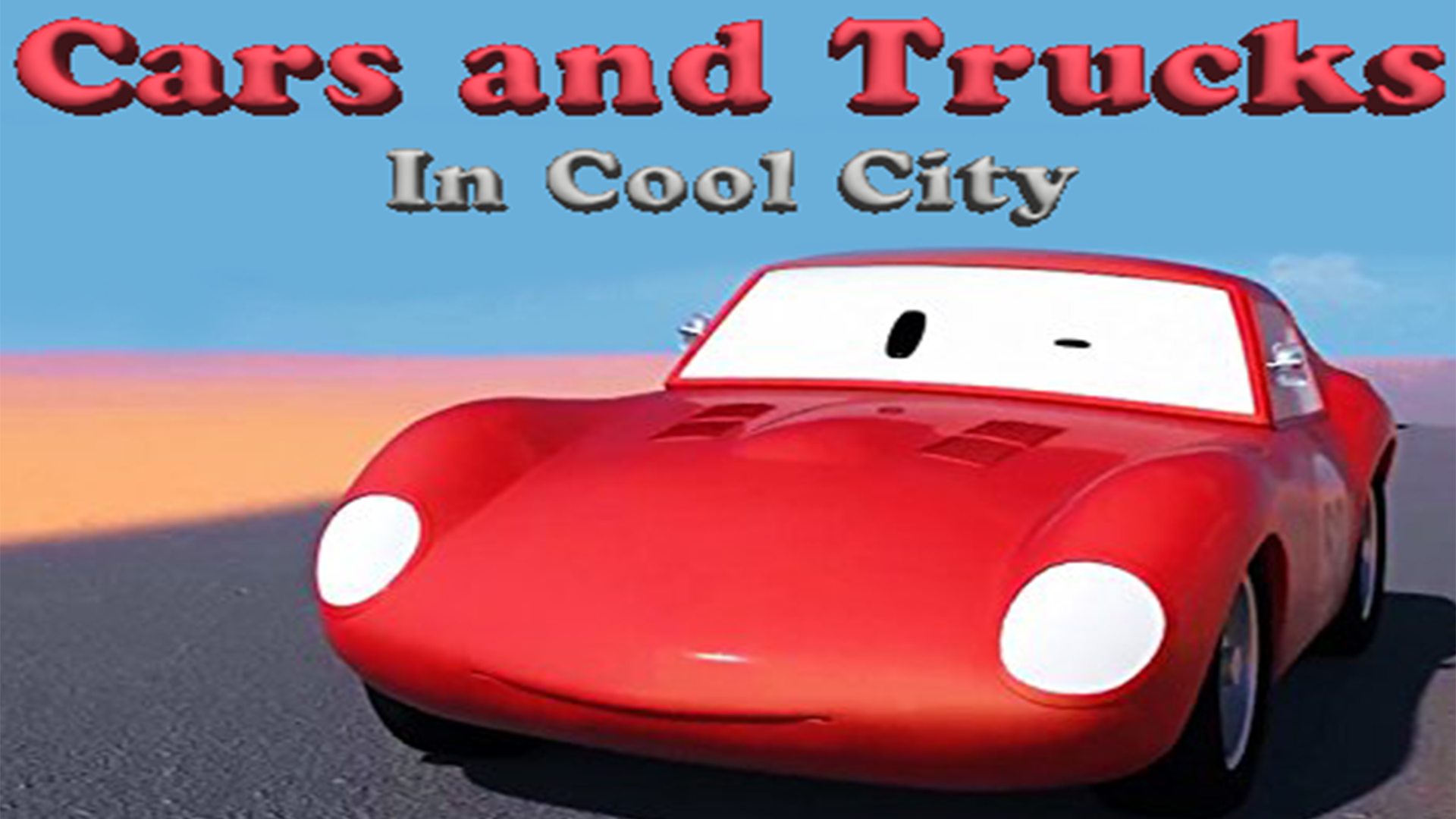 Cars and Trucks in Car CIty