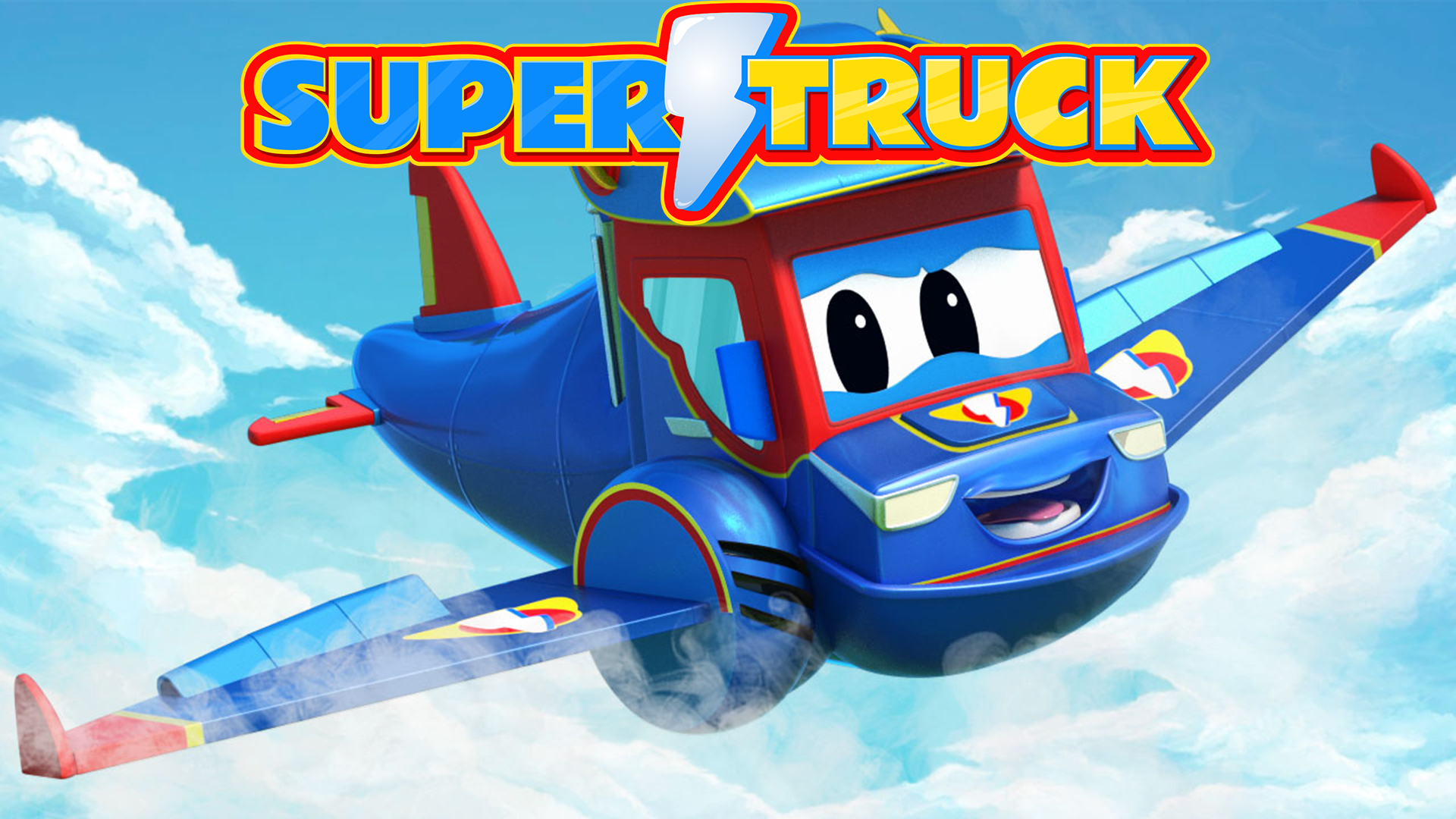 Super Truck - Carl the Transformer