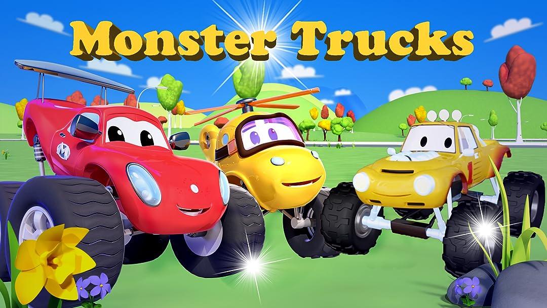 Watch Monster Trucks Truck Cartoon For Kids Prime Video