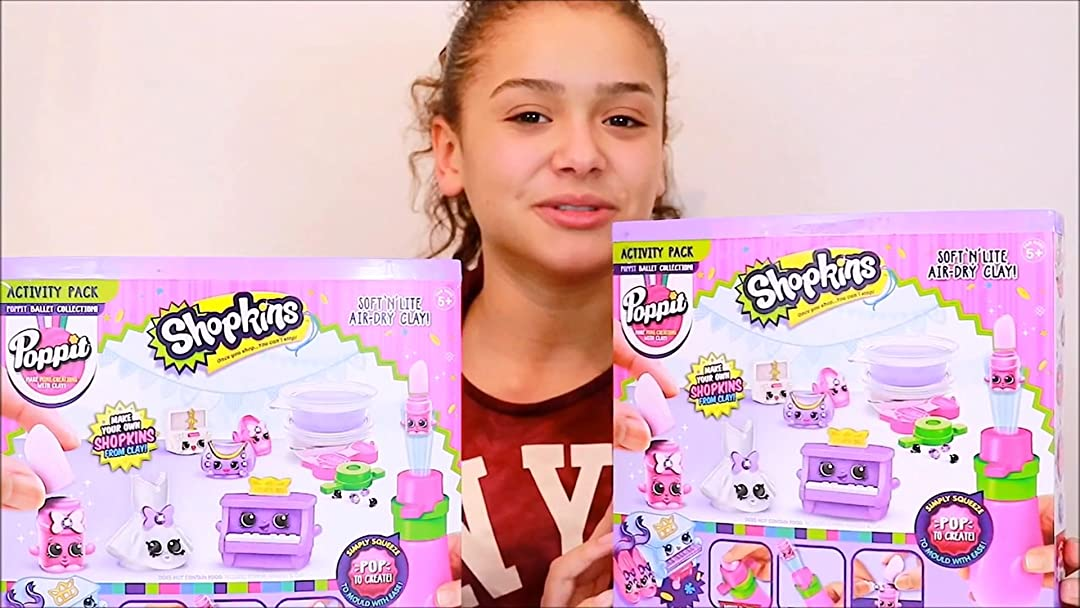 Poppit Shopkins Activity Pack